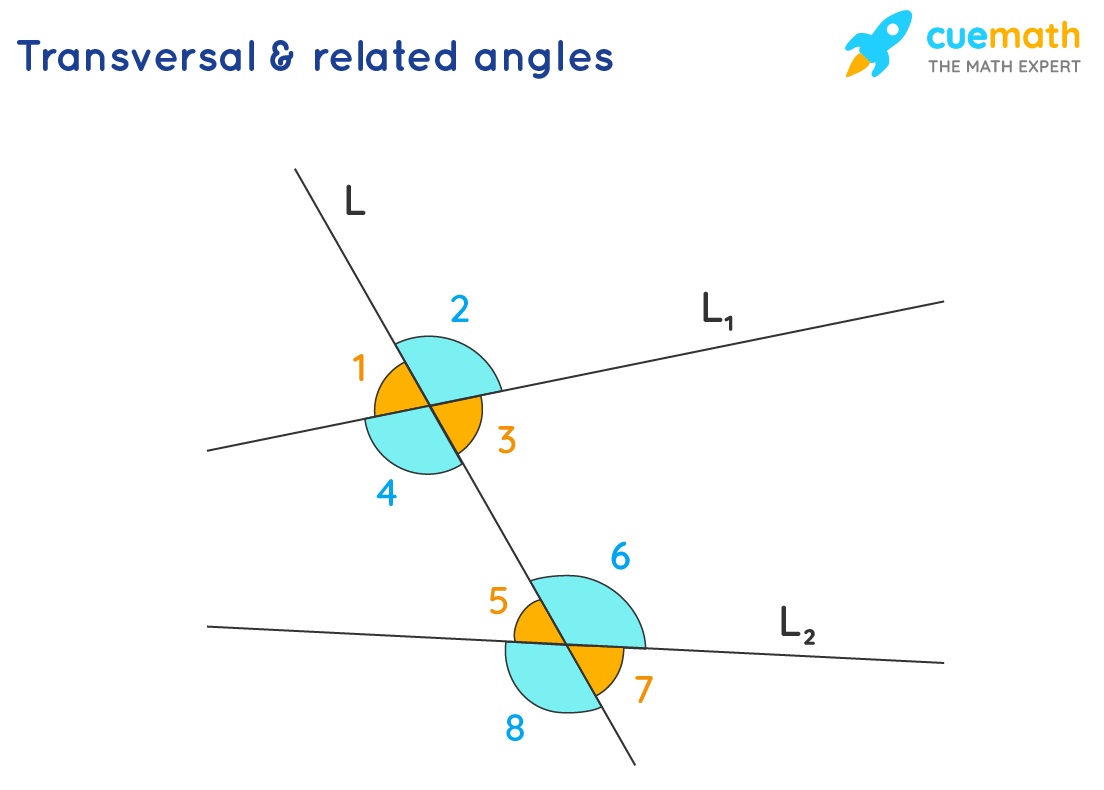 transversals and related angles
