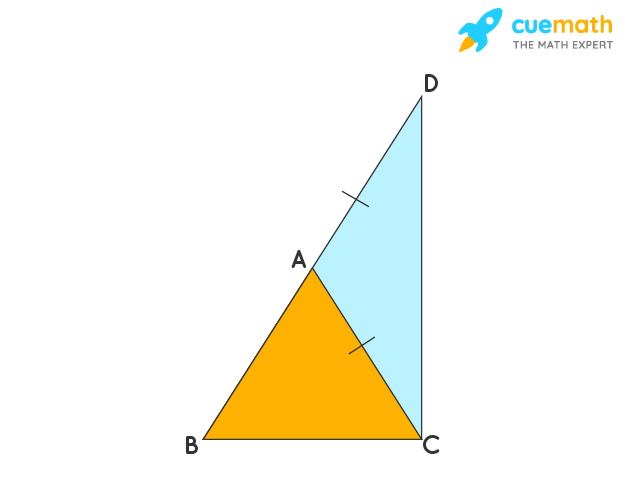 proof of triangle inequality theorem - step 2