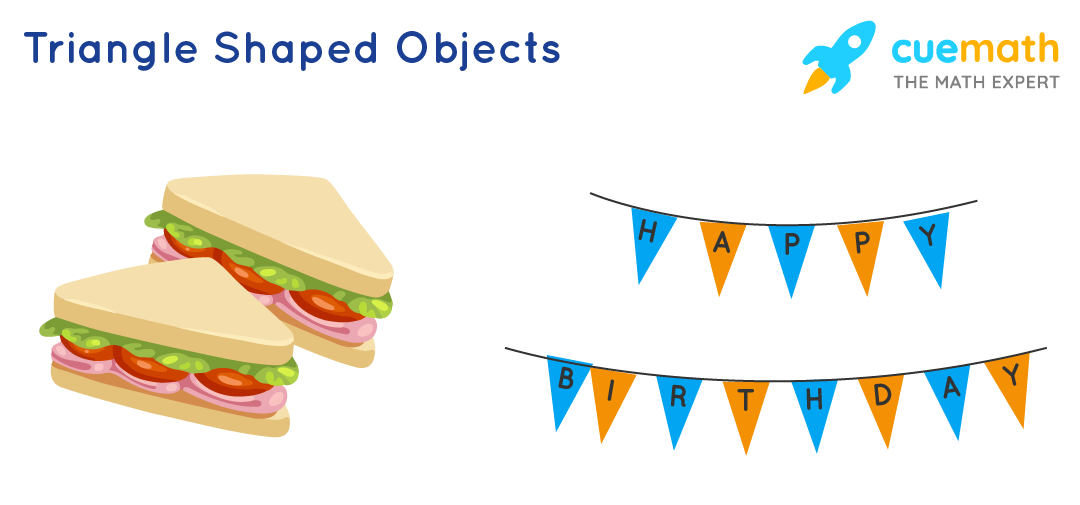 Triangle shaped objects