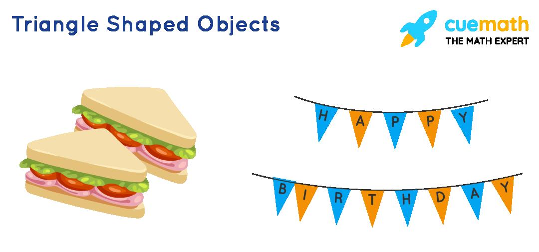 triangle-shaped objects