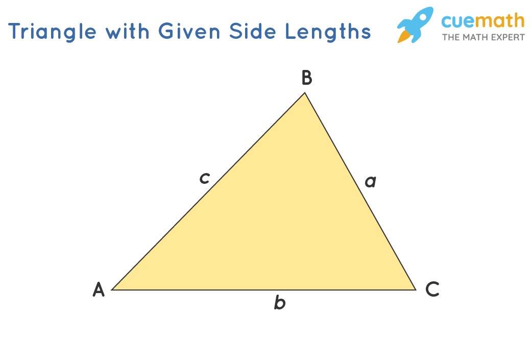 Triangle with Given Side Lengths