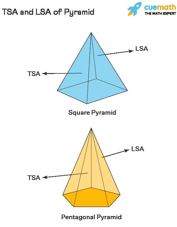 TSA and LSA of Pyramid