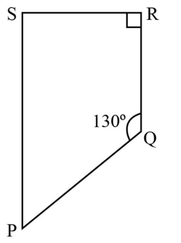 Find the measure of ∠P and ∠S if SP || RQ in Fig 3.34. (If you find m∠R , is there more than one method to find m∠P?)