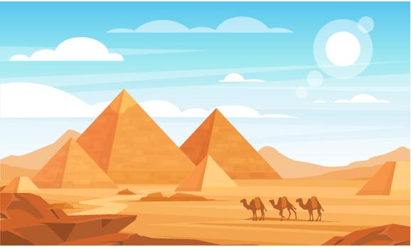 sin cos tan introduction: Egypt pyramids