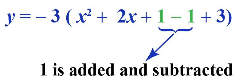 Standard form to Vertex Form: Completing the square
