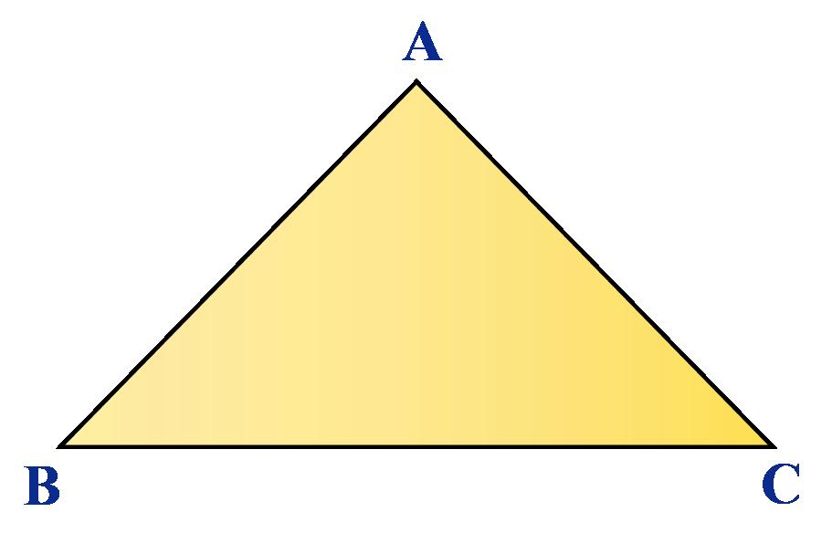 Diagonals of a triangle: A triangle has no diagonals.