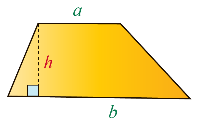 Proof of formula of area of a trapezoid