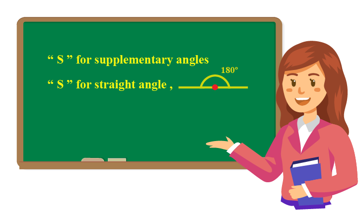 Tip to remember supplementary angles