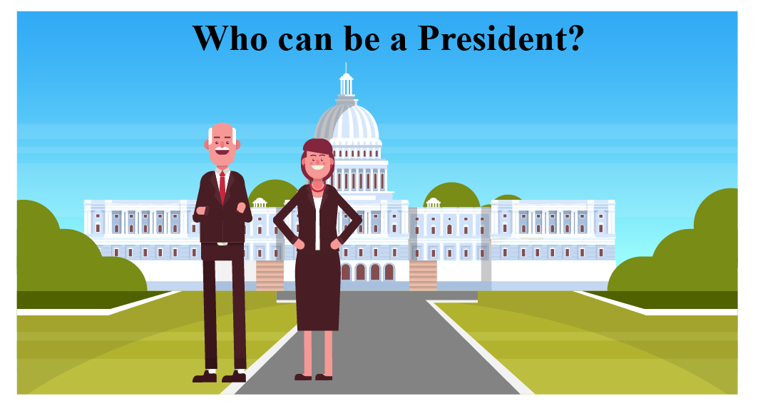 Greater than or equal to examples: A scenario of the age requirements to become a president