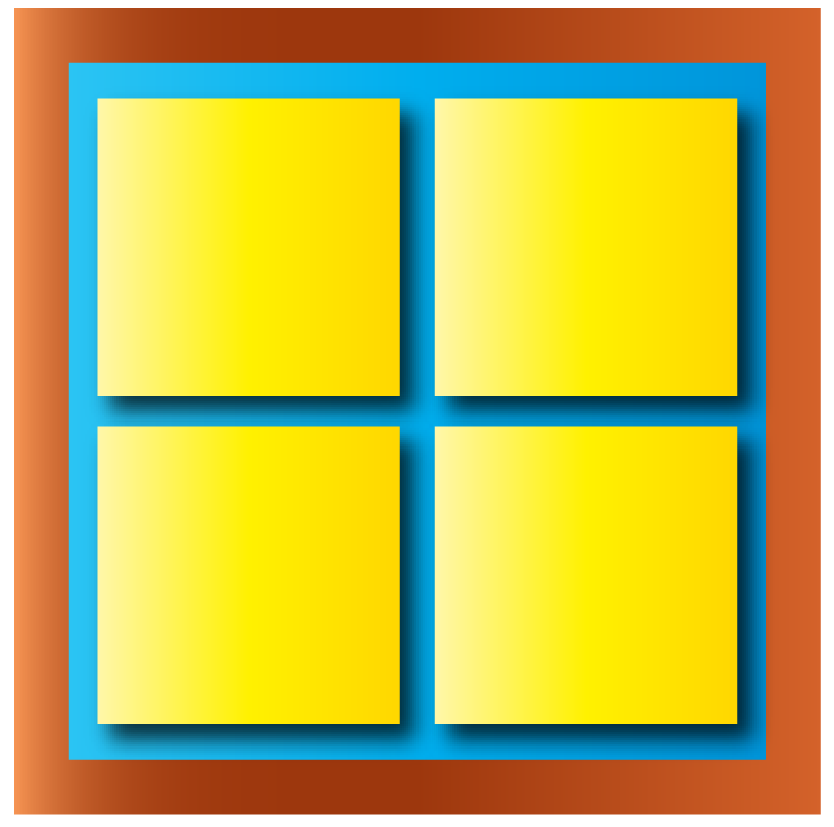 x squared word problem: a square shaped window