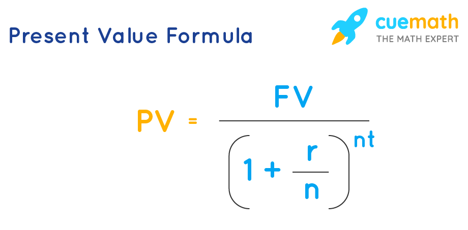 present value formula of compound interest