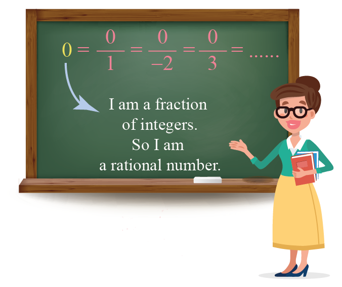 0 can be written as 0 over 1, or 0 over minus 2, or 0 over 3 etc. Thus, 0 is a rational number.
