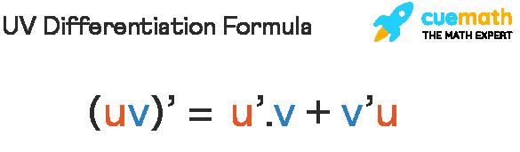 UV Differentiation Formula