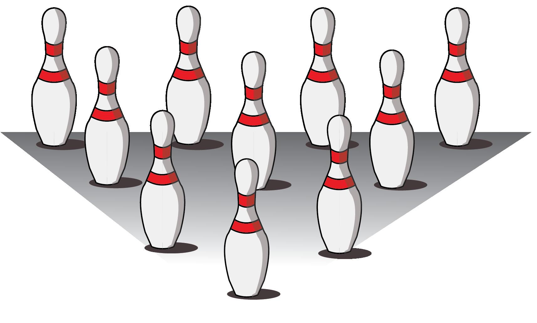 Bowling Pins: Arithmetic Progression