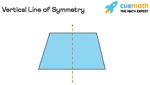 vertical line of symmetry