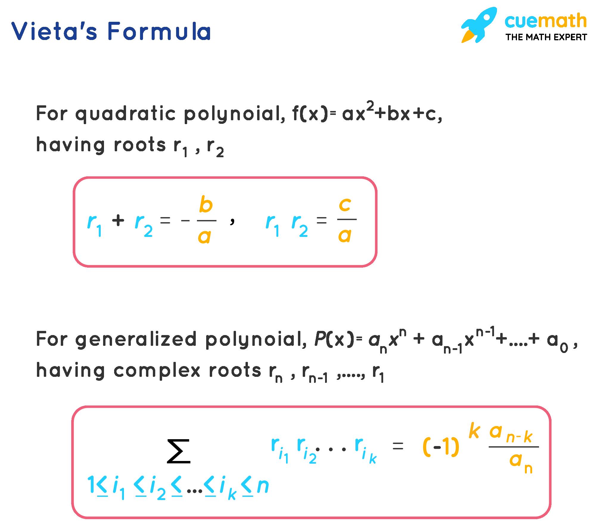 vieta's formula