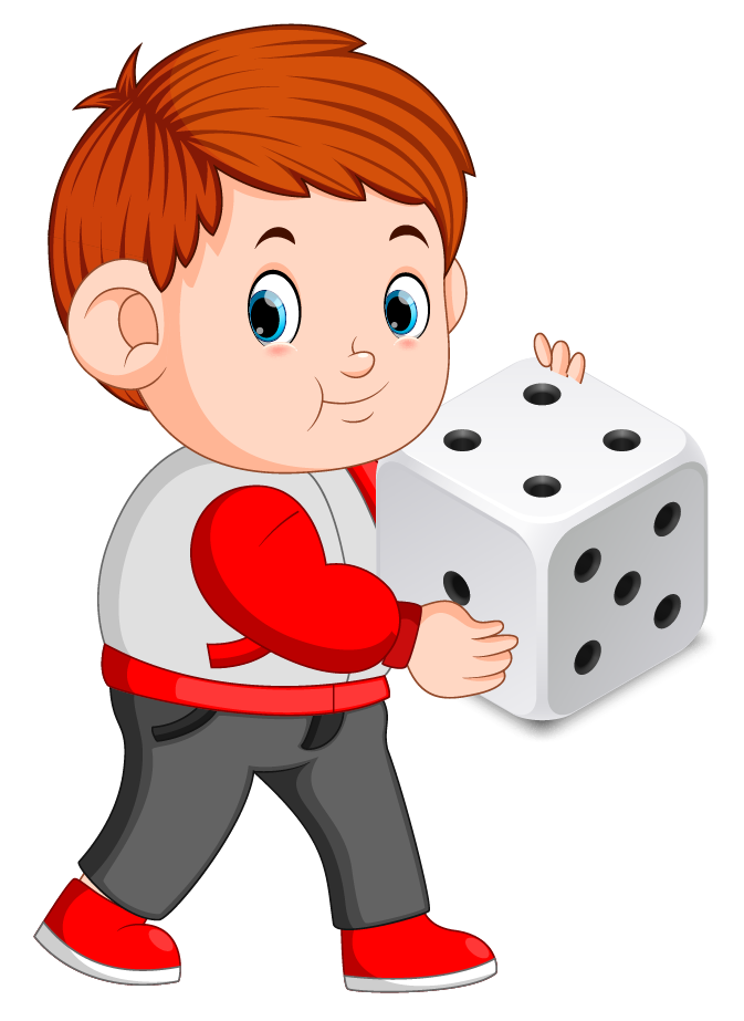 Probability example of rolling a dice