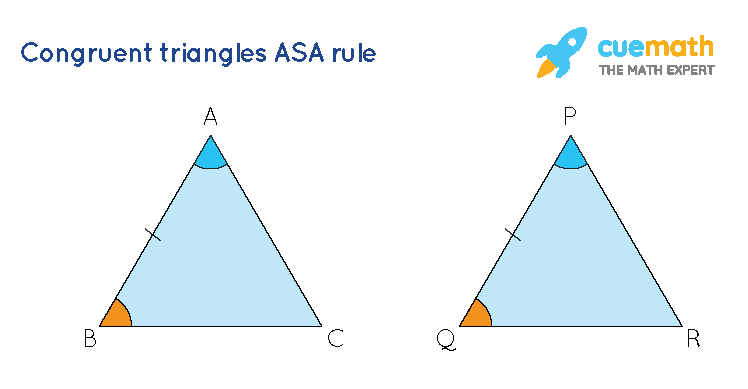 Congruent Triangles ASA rule