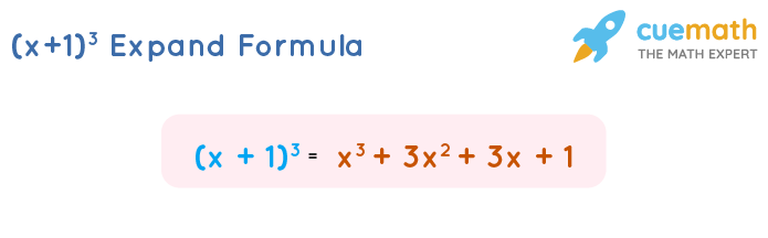 x plus 1 whole cube formula