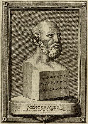 Famous mathematician: Xenocrates